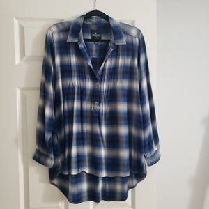 American Eagle Flannel Tunic